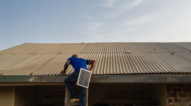 How a BrightLife Solar Lamp is Installed